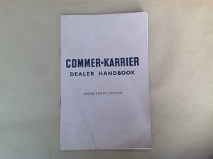 Commer and Karrier Dealer book  For Sale (picture 1 of 2)