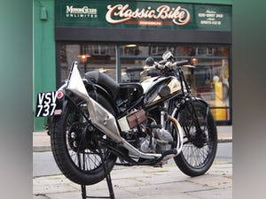 1938 Cotton J.A.P 350 CC Model 9 / High Cam O.H.C Very Rare. For Sale (picture 1 of 12)