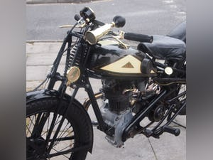1938 Cotton J.A.P 350 CC Model 9 / High Cam O.H.C Very Rare. For Sale (picture 2 of 12)