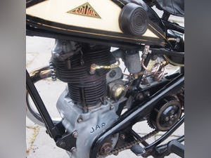 1938 Cotton J.A.P 350 CC Model 9 / High Cam O.H.C Very Rare. For Sale (picture 4 of 12)