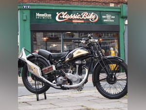 1938 Cotton J.A.P 350 CC Model 9 / High Cam O.H.C Very Rare. For Sale (picture 8 of 12)