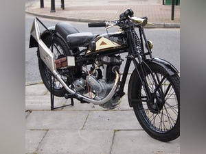 1938 Cotton J.A.P 350 CC Model 9 / High Cam O.H.C Very Rare. For Sale (picture 9 of 12)