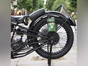 1938 Cotton J.A.P 350 CC Model 9 / High Cam O.H.C Very Rare. For Sale (picture 11 of 12)