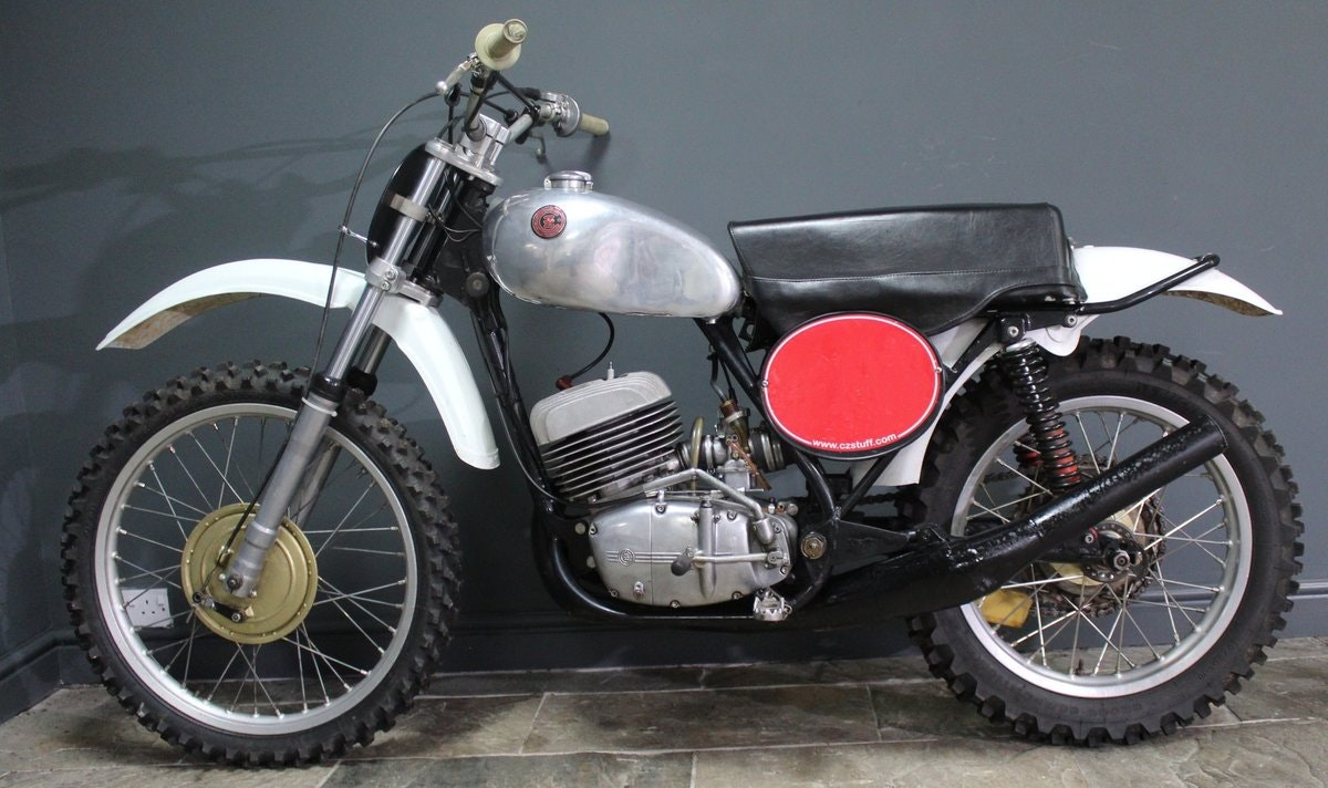 1973 CZ 380 cc Two Stroke Moto Cross Superbly presented For Sale (picture 1 of 6)