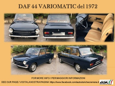 Picture of 1972 LHD DAF 44 VARIOMATIC For Sale