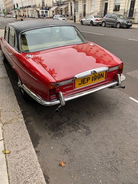 1975 Beautiful daimler serie 2 many expenses on it SOLD (picture 1 of 6)