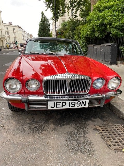 1975 Beautiful daimler serie 2 many expenses on it SOLD (picture 2 of 6)