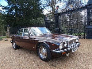 1983 Daimler Sovereign Services III VERY RARE MANUAL For Sale (picture 1 of 6)