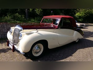 1952 Daimler DB 18 2 1/2 Litre Sports Special by Barker For Sale (picture 1 of 12)