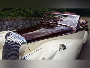 1952 Daimler DB 18 2 1/2 Litre Sports Special by Barker For Sale (picture 10 of 12)