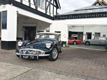 """Picture of 1961 DAIMLER DART SP250 """"B SPEC"""" For Sale"""
