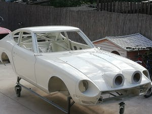 1973 Datsun 240z Rally Shell - FIA Approved CAGE For Sale (picture 1 of 6)