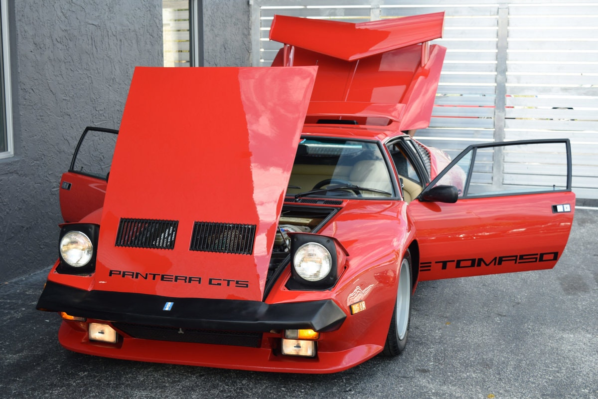 1986 De Tomaso Pantera GT5-S Factory Wide Body Very Rare  For Sale (picture 2 of 6)