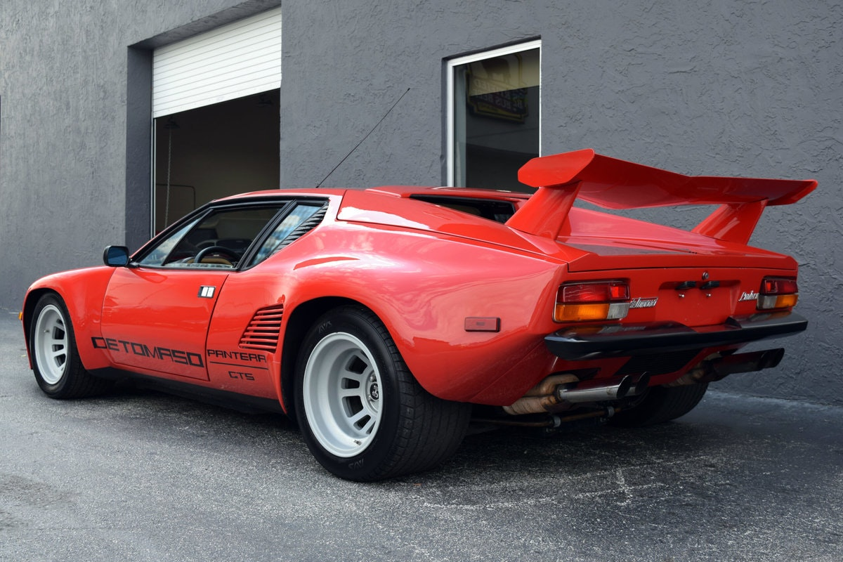 1986 De Tomaso Pantera GT5-S Factory Wide Body Very Rare  For Sale (picture 3 of 6)