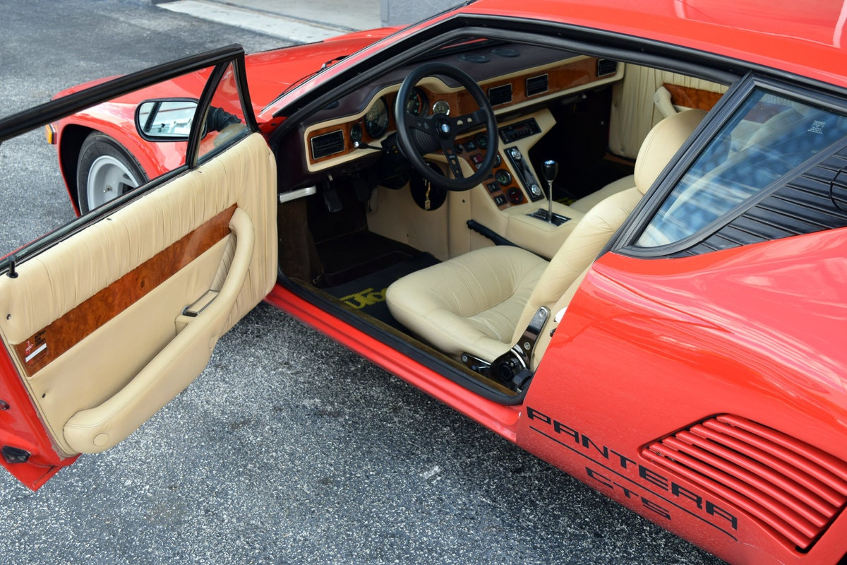 1986 De Tomaso Pantera GT5-S Factory Wide Body Very Rare  For Sale (picture 4 of 6)