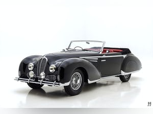 1948 DELAHAYE TYPE 135M CABRIOLET For Sale (picture 1 of 12)