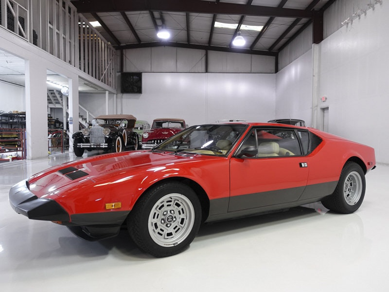 Carroll Shelby's 1983 DeTomaso Pantera GTS For Sale (picture 1 of 6)