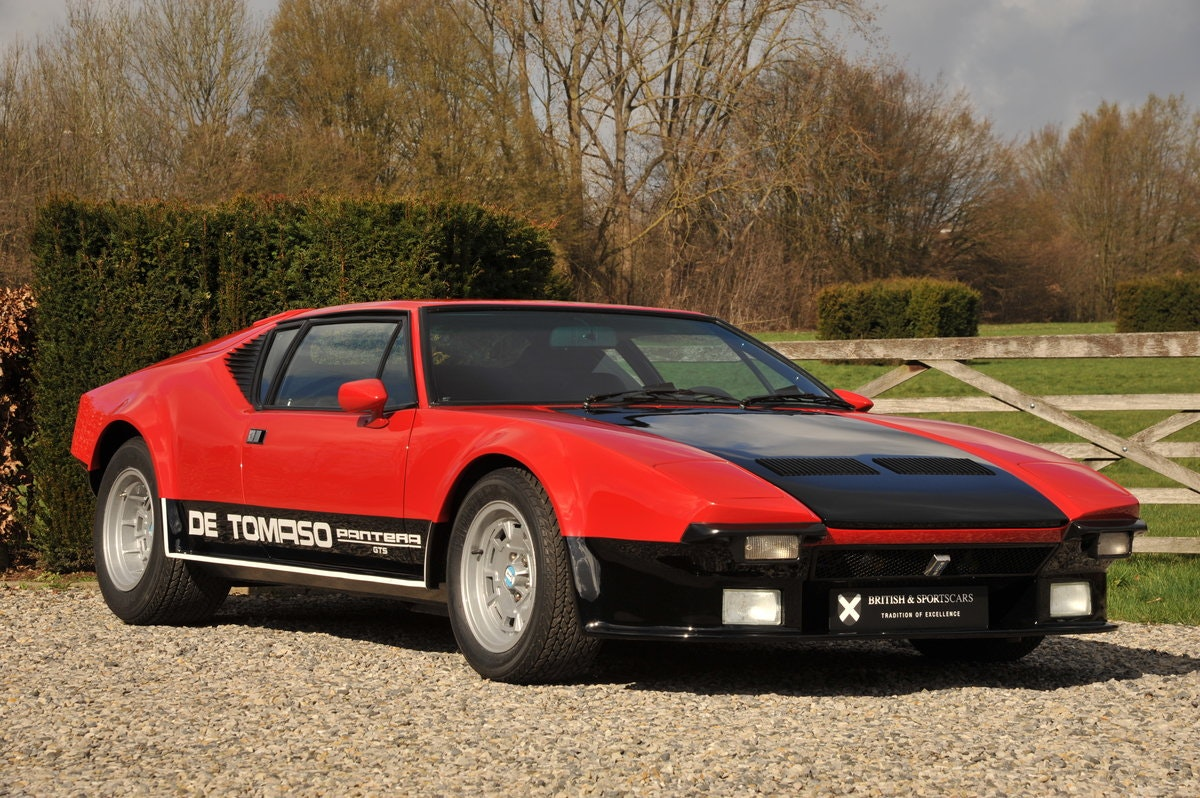 De Tomaso Pantera GTS (1974) For Sale (picture 1 of 6)