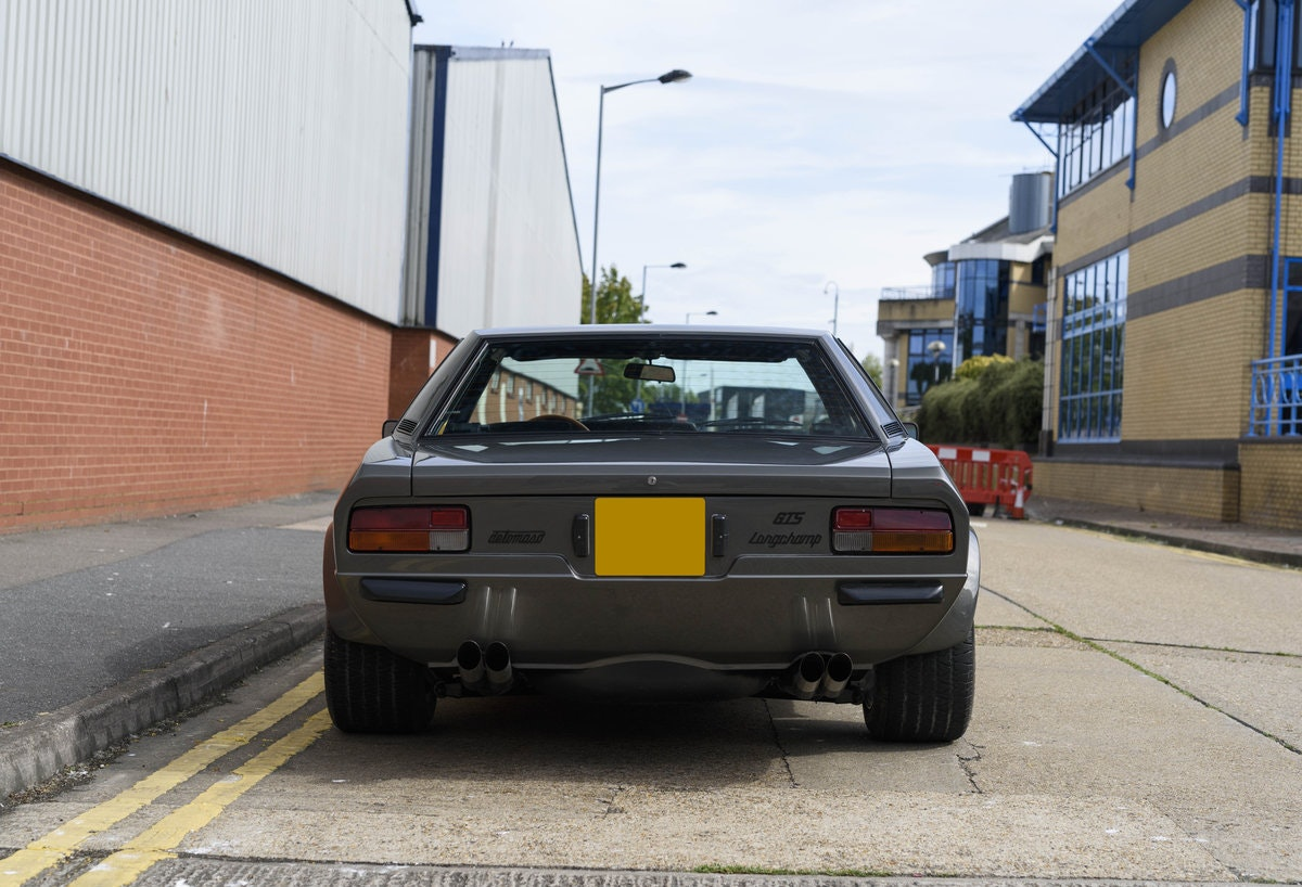 1974 De Tomaso Longchamp GTS Coupe For Sale in London (LHD) For Sale (picture 8 of 23)