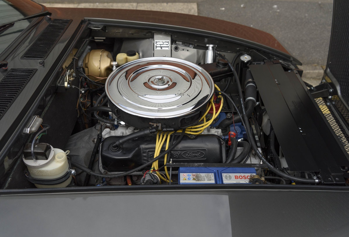 1974 De Tomaso Longchamp GTS Coupe For Sale in London (LHD) For Sale (picture 21 of 23)