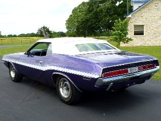 1970 Dodge Challenger R/T Convertible 426 Hemi Plum $149.5k For Sale (picture 2 of 6)