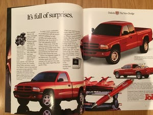 Dodge 1998 trucks brochure For Sale (picture 2 of 2)