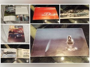 0000 DODGE ORIGINAL RARE FACTORY SALES BROCHURES AND SPECS For Sale (picture 3 of 12)