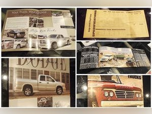 0000 DODGE ORIGINAL RARE FACTORY SALES BROCHURES AND SPECS For Sale (picture 4 of 12)