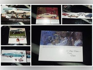 0000 DODGE ORIGINAL RARE FACTORY SALES BROCHURES AND SPECS For Sale (picture 5 of 12)