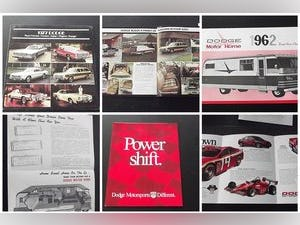 0000 DODGE ORIGINAL RARE FACTORY SALES BROCHURES AND SPECS For Sale (picture 6 of 12)