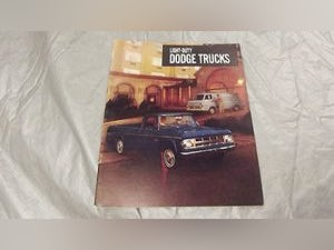 0000 DODGE ORIGINAL RARE FACTORY SALES BROCHURES AND SPECS For Sale (picture 9 of 12)