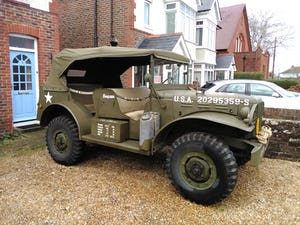1942 Dodge WC56 Comd Car For Sale (picture 1 of 12)