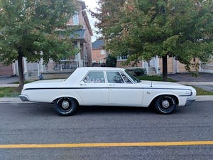 1964 Dodge 440 pearl white summer cruiser For Sale (picture 4 of 12)