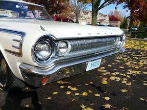 1964 Dodge 440 pearl white summer cruiser For Sale (picture 7 of 12)