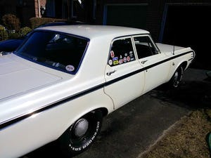 1964 Dodge 440 pearl white summer cruiser For Sale (picture 9 of 12)