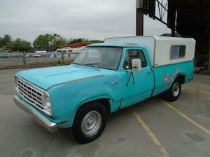 DODGE D200 CUSTOM LWB 5.9 V8 LHD PICK UP(1973)TURQUOISE RUNS For Sale (picture 2 of 10)