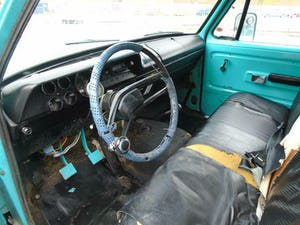 DODGE D200 CUSTOM LWB 5.9 V8 LHD PICK UP(1973)TURQUOISE RUNS For Sale (picture 9 of 10)