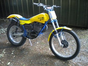 1947 Swm jumbo 350 1983 trials bike For Sale (picture 1 of 6)