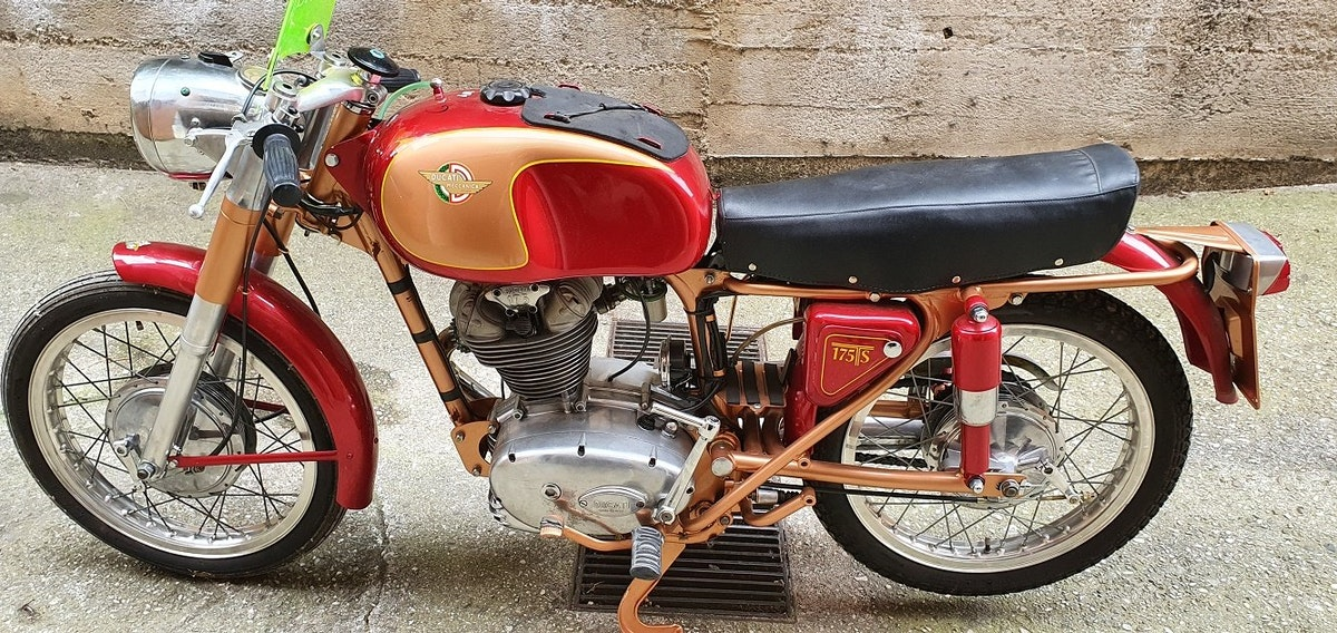 1961 DUCATI 175 TS For Sale (picture 1 of 6)