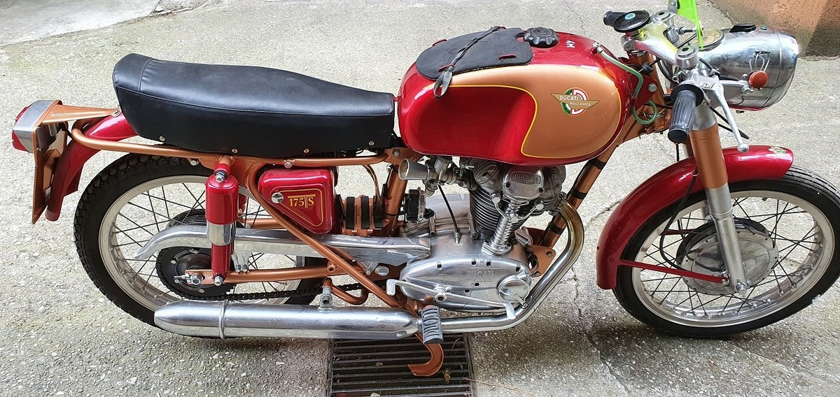 1961 DUCATI 175 TS For Sale (picture 4 of 6)