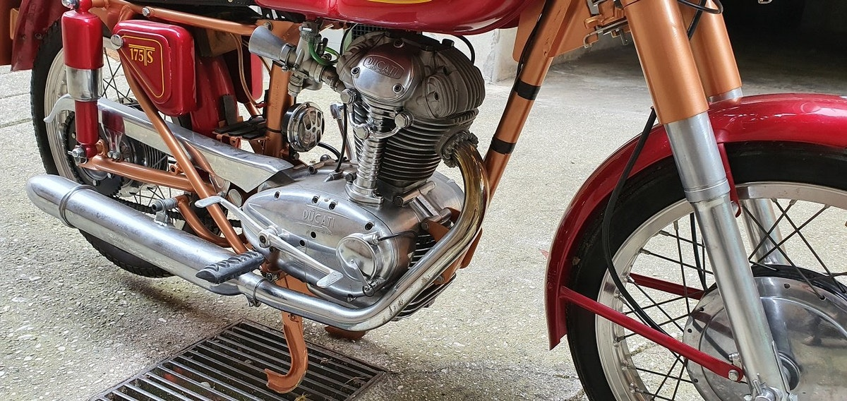 1961 DUCATI 175 TS For Sale (picture 5 of 6)