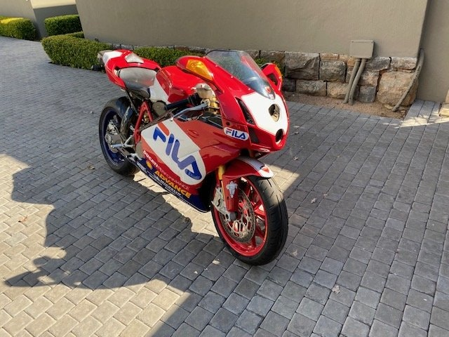 2003 Ducati 999R Fila Limited Edition For Sale (picture 1 of 6)