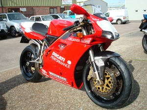 Ducati 748 SPS FOGGY REP 1998-R **MINT**LOW MILES** For Sale (picture 11 of 12)