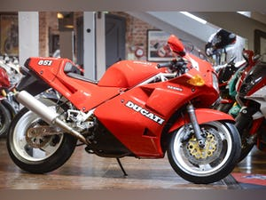 1989 Ducati 851 SP1 Concours Condition For Sale (picture 1 of 20)