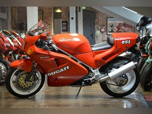 1989 Ducati 851 SP1 Concours Condition For Sale (picture 17 of 20)