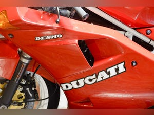 1989 Ducati 851 SP1 Concours Condition For Sale (picture 19 of 20)