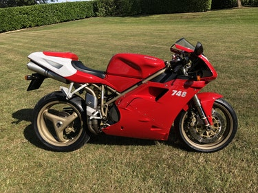 Picture of 1999 Ducati 748 Biposto 2,600 miles only For Sale