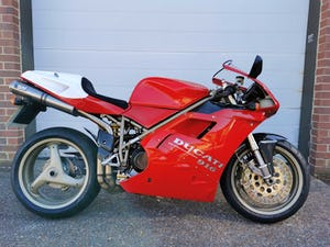 1999-T Ducati 916 BP *immaculate condition,low miles* SOLD (picture 1 of 10)
