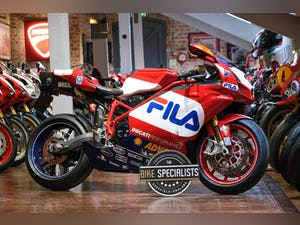 2003 Ducati 999R Fila Stunning Low Mileage example only 1,300 mil For Sale (picture 1 of 25)
