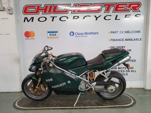 2003 DUCATI 998 MATRIX RELOADED EDITION IMMACULATE CONDITION For Sale (picture 1 of 12)